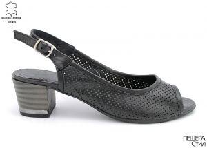 Дамски сандали в черно D-750 CH