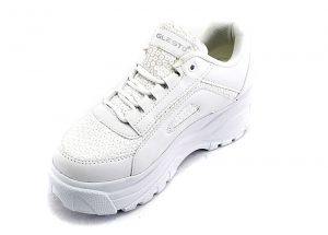Women's Laced Platform Runnign Sport Shoes 664B